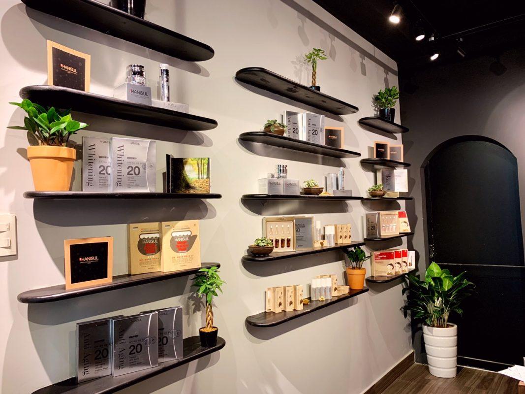 Showroom trưng bày tinh chất serum phục hồi và dưỡng sáng hồng da Hanisul Radiance Repair Serum tại tphcm