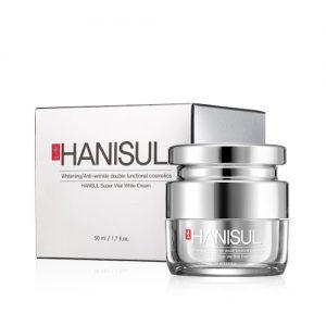 Kem dưỡng da trắng hồng tự nhiên Hanisul Super Vial White Cream