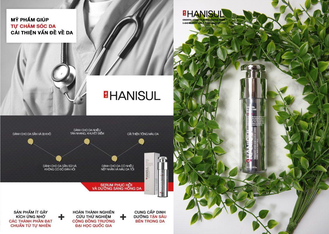 Tinh chất Serum Hanisul Radiance Repair an toàn, hiệu quả và thuận tiện khi dử dụng