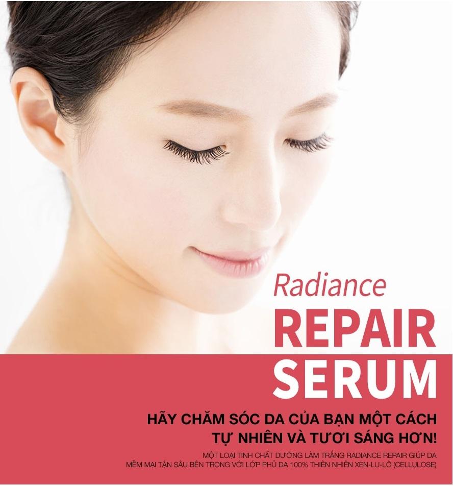 Tinh chất serum công dụng phục hồi tổn thương da, trẻ hóa và nuôi dưỡng da sáng hồng tự nhiên