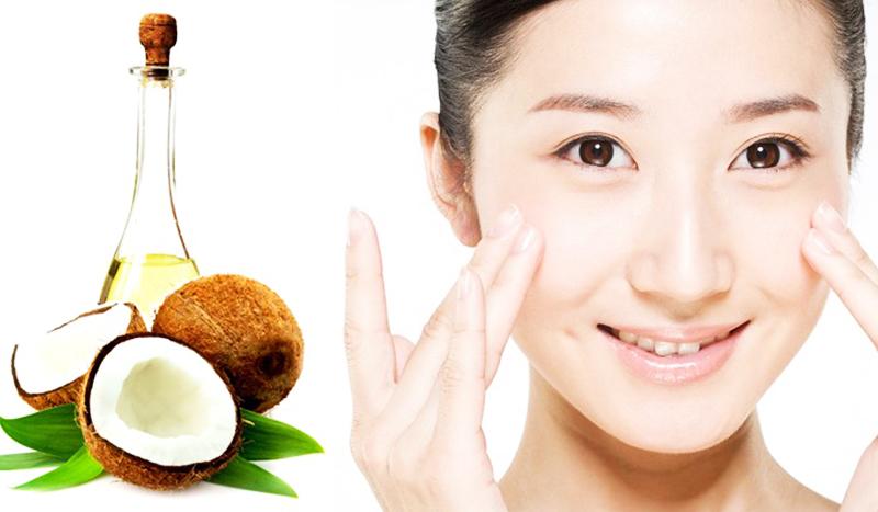 Mặt nạ dầu dừa chống lão hóa tự nhiên giúp làn da trở nên trắng mịn